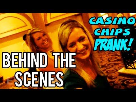 Casino Chips Prank!! - HONESTY TEST - BEHIND THE SCENES