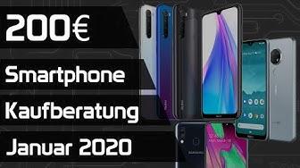 Das beste Smartphone für 200€ | Kaufberatung Januar 2020