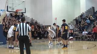 Dylan Kaufman hits two clutch free throws
