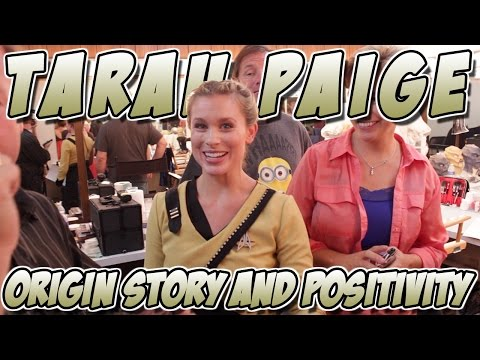 Tarah Paige - Origin Story and Positivity