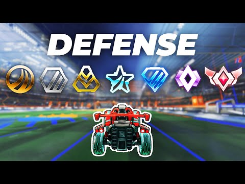 The Defensive Mistakes Of EVERY Rank In Rocket League