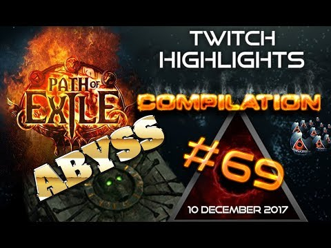 Path of Exile highlights | Day 1 & 2 of Abyss League | poe rips, RNG, Close Calls #69