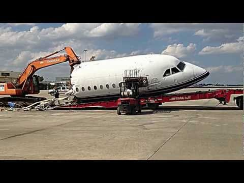 BAC 1-11 ramp demolition