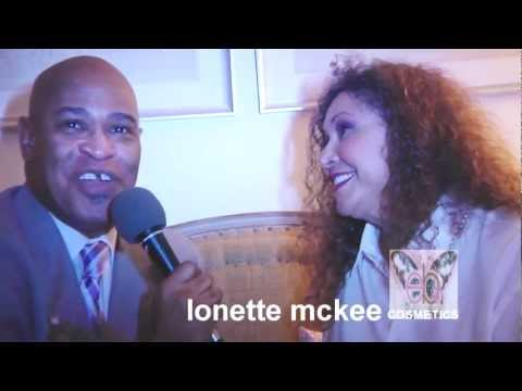 EB Cosmetics National Launch Party - Lonette Mckee