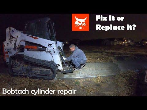 Bobcat Bobtach Cylinder Repair