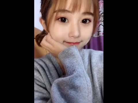 Sexy hot Asian girl face