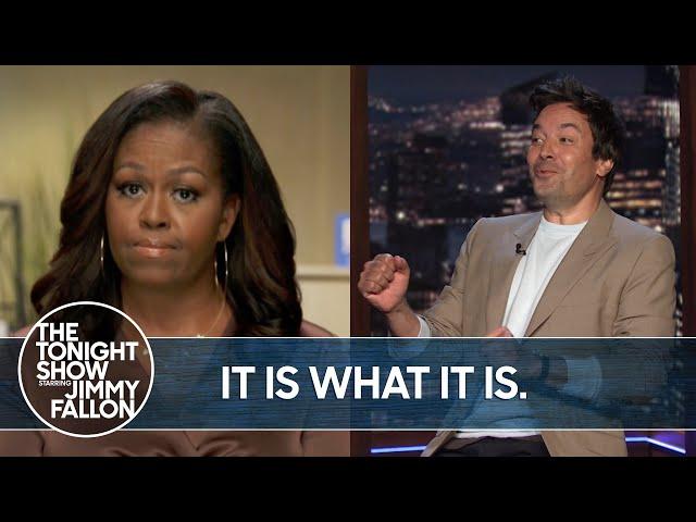 Michelle Obama Slams Trump in 2020 DNC Speech | The TonightShow