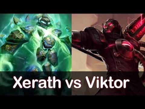 0039 Dopa as Xerath vs Viktor Mid S5