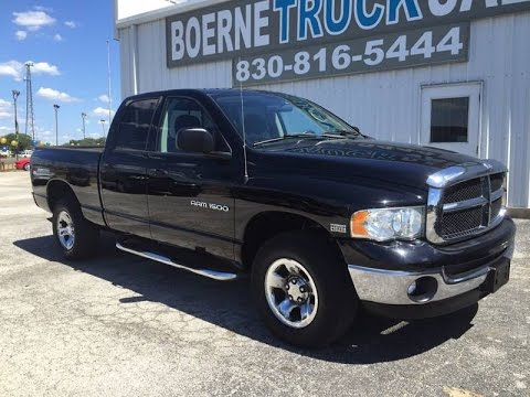 2004 Dodge Ram 1500 SLT Review