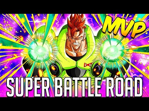 NEW TEQ ANDROID 16 IS THE MVP VS SUPER BATTLE ROAD! DBZ Dokkan Battle | Resurrected Warriors SBR