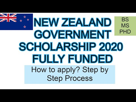 NEW ZEALAND GOVERNMENT SCHOLARSHIP 2020  FULLY FUNDED