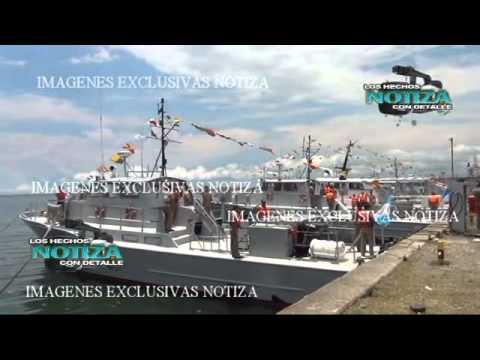ZARPAN DOS GUARDACOSTAS DE CONACAR PARA ADIESTARSE EN EL MAR LLEGANDO A MEXICO Y CUBA