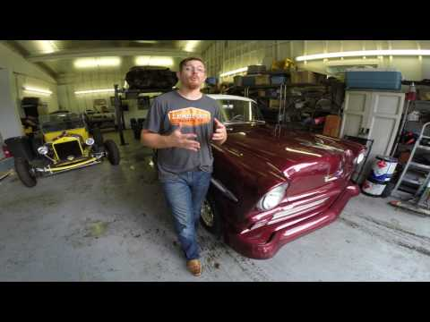 Project Rolling Thunder 1956 Chevy BelAir UNVEILED