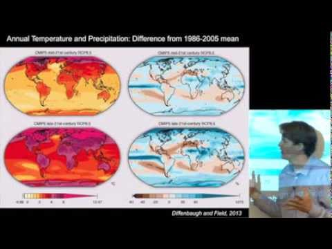 Stanford Professor Noah Diffenbaugh Lecture on Climate Change and Severe Weather (October 16, 2013)