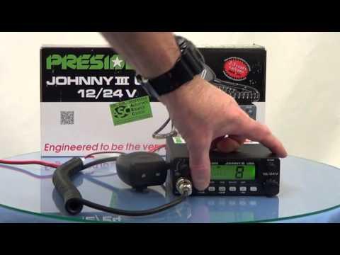 President JohnnyIII 12/24V  CB Radio