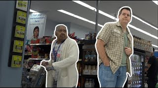 WALMART LADY GETS MAD AT FARTING GUY - The Pooter - #Prank #Farting #FartPrank