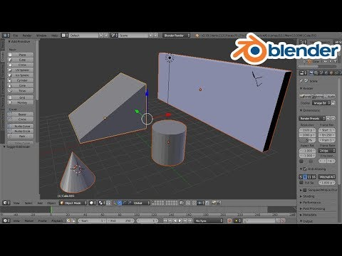 #Blender-02 Object/vertex/edge/face- Select, Move, Rotate, Scale, Add, Delete,| Edit/Object Mode