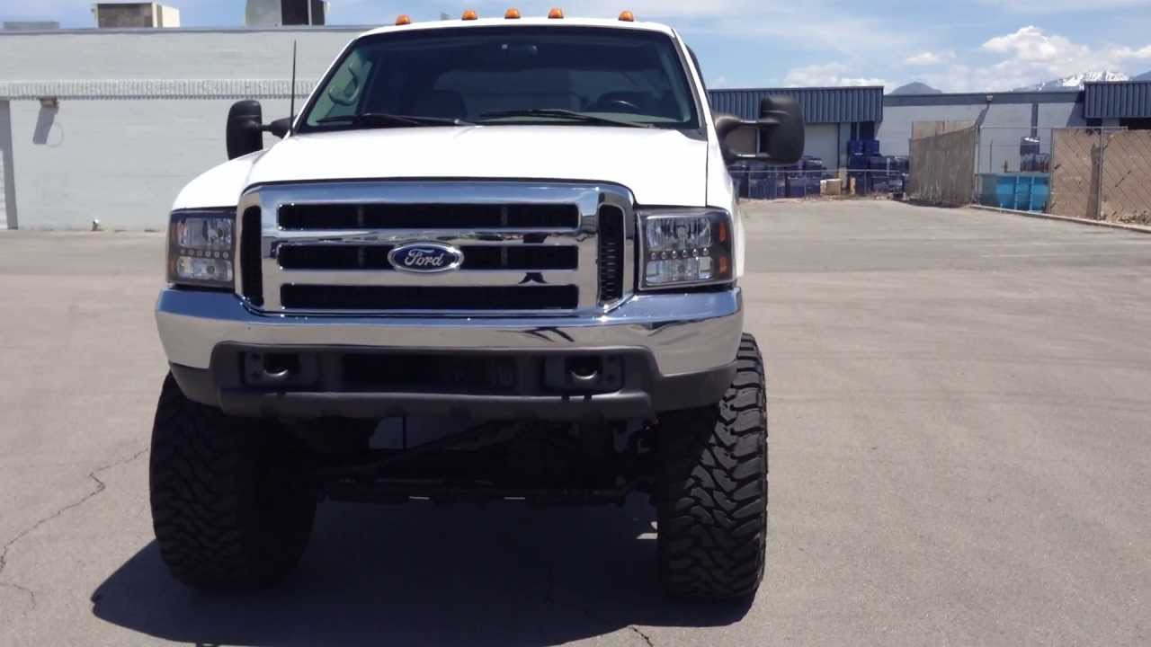 1999 FORD F350 CREW CAB LARIAT 4X4 - LIFTED ON 20X40'S - 7 ...