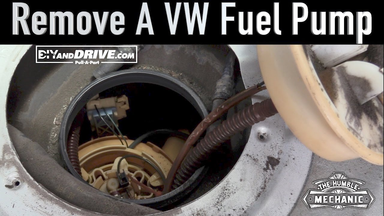 how to remove a vw fuel  [ 1280 x 720 Pixel ]