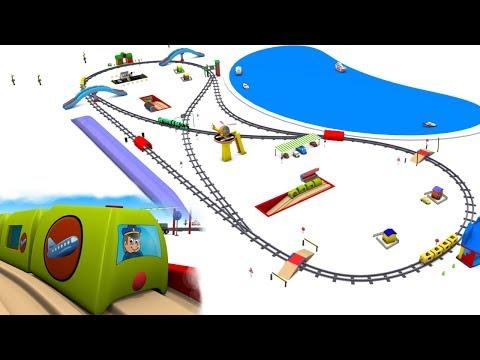chu chu train - trains for children - Train for kids - Toy Trains - Kids Railway - Toy Factory