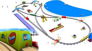 chu chu train - trains for children - Train for kids - Toy Trains - Kids Railway - Toy Factory