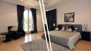 Dubai Holiday Villa at Palm Jumeirah for rent.