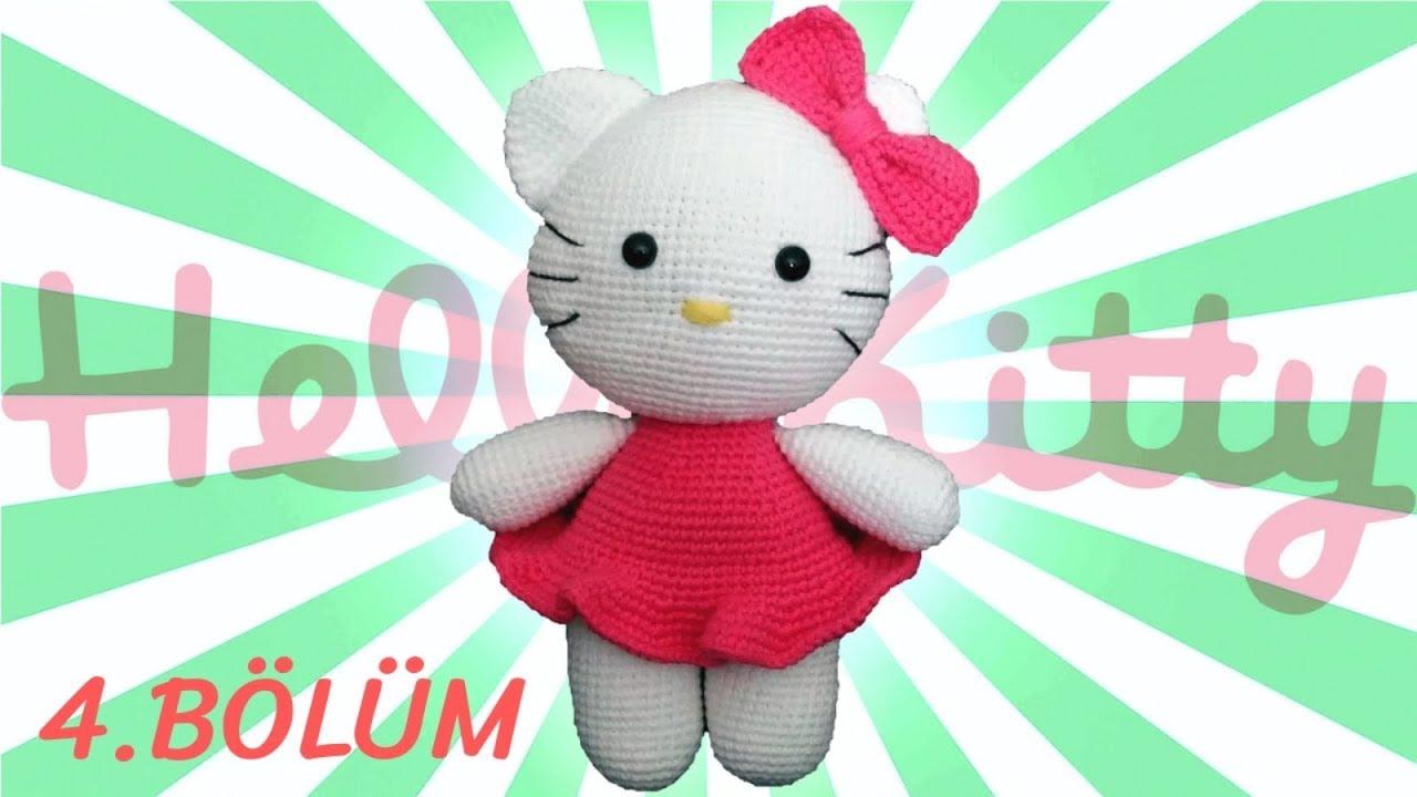 Amigurumi Hello Kitty Anahtarlık Tarifi | Hello kitty, Amigurumi | 720x1280