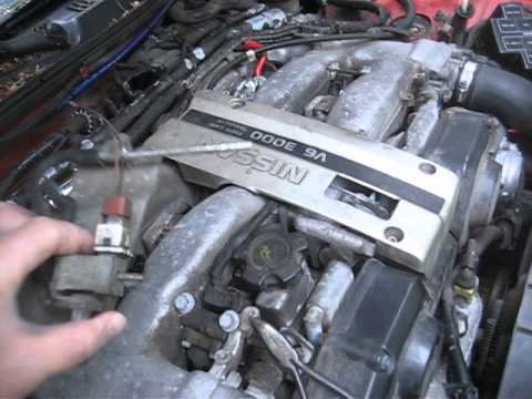 How to change VALVE ASSYSOLENOID on a 300zx (z32) or j30 Vacuum aesa123 14956V 95630P00
