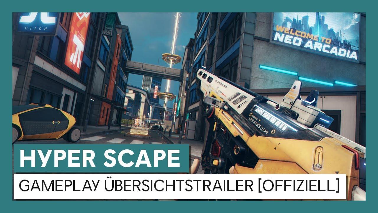 HYPER SCAPE - Gameplay Übersichtstrailer