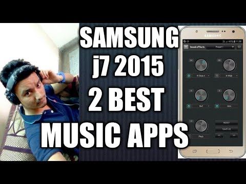 Samsung Galaxy j7 2015  2 Best Apps for Music || 2 best Music Apps for Android  (Hindi)