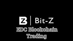 EDC Blockchain: Trading on the Bit-Z Exchange