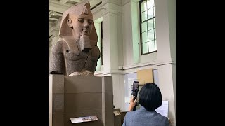 The British Museum Livestreams on Alibaba Travel App