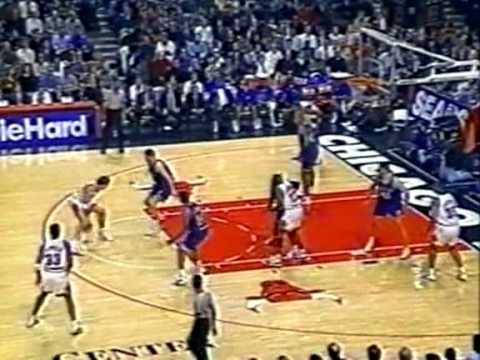 95/96 Chicago Bulls vs Dallas Mavericks (19.12.1995.)