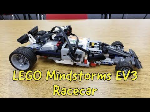 """The LEGO Mindstorms EV3 Racecar!!!"""