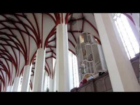 Johann Sebastian Bach organ music at St. Thomas Church in Leipzig