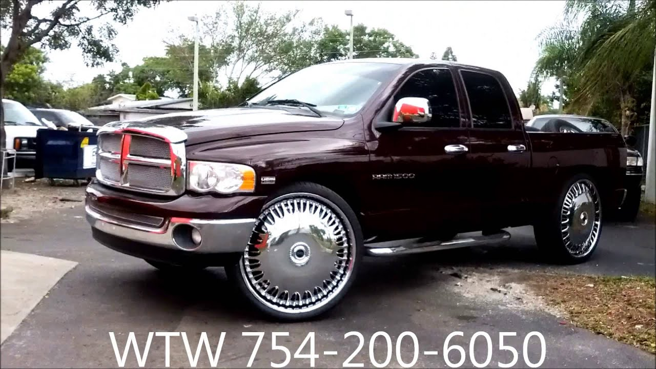 Acewhips Net Wtw Customs Dodge Ram 1500 On 30 Quot Dub
