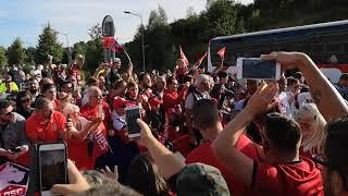 Lille Rennes 11-08-18 entrée des joueurs
