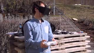 Oculus FPV   a fully immersive live view from a DJI Phantom 2