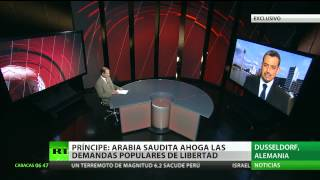 """Príncipe opositor saudí a RT: """"El Gobierno tiene miedo a las revoluciones árabes"""""""