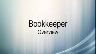 Bookkeeper Overview