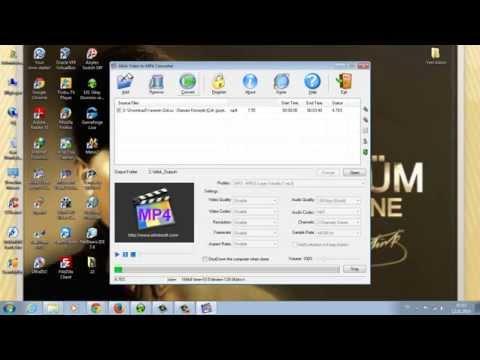 Allok Video to MP4 Converter - Videodan MP3 ayırma (Videodan Ses Dosyası Alma)