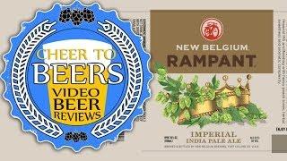 New Belgium Rampant Imperial IPA Beer Review | Cheer to Beers