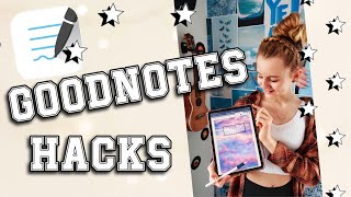 GOODNOTES HACKS TUTORIAL #SHORTS | MaVie