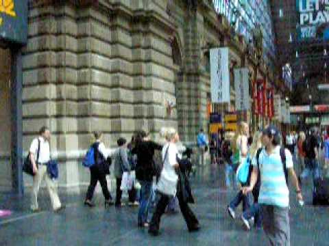 Inside Frankfurt Hauptbahnhof (Central Train Station)