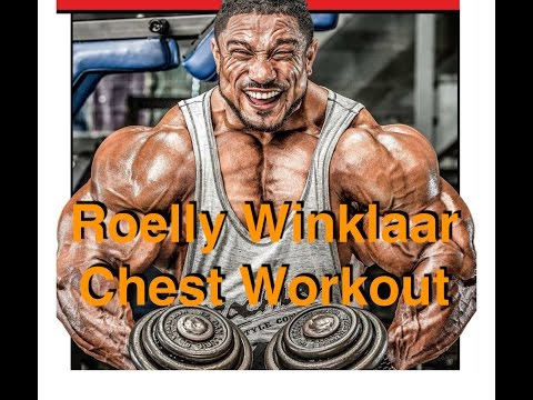 Roelly Winklaar Full Chest Training IFBB Pro & Mr. Olympia Competitor on Curacao | BenSattinger.com