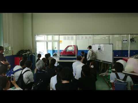 【KIC】『エアバッグの展開』2017プレミアムオープンキャンパス