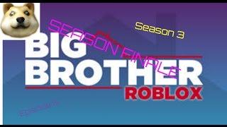 ROBLOX Big Brother Season 3 Episode 6: HoH, Final 3 & 2 SEASON FINALE