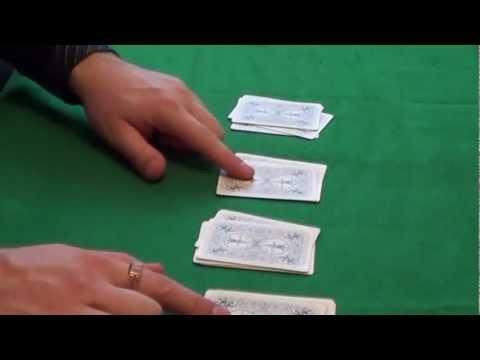 Карточные фокусы с картами обучение и их секреты Веер Card Tricks Tutorial for beginners