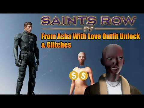 Saints Row 4 From Asha With Love Outfit Glitches