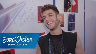 Schweiz: Luca Hänni nach dem Finale | Eurovision Song Contest | NDR